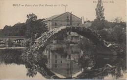 39 DOLE  Ruines D'un Pont Romain Sur Le Doubs - Dole