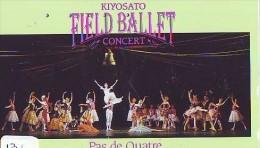 Télécarte JAPON * BALLET (131)  * Dance Dancing Tanzen Danser Ballare Japan Phonecard - Sport