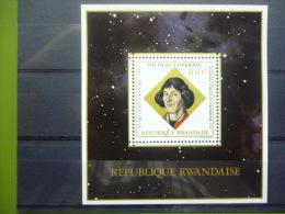 REP. RWANDA BLOK 33  xx ( COB ) COTE : 4.50 EURO ( B )
