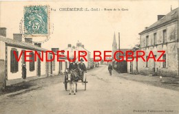 CHEMERE       ROUTE DE LA GARE - France