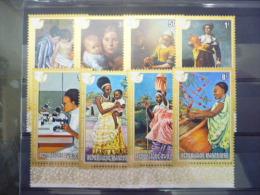 REP. RWANDA 662/669  xx ( COB ) COTE : 4.50 EURO ( B )