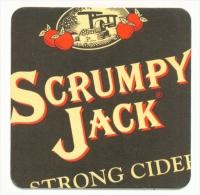 UNITED KINGDOM  -  Scrumpy Jack  Beermat As Scans - Beer Mats