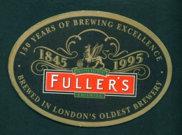 UNITED KINGDOM  -  Fuller's  No. 1  Beermat As Scans - Beer Mats