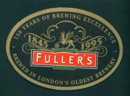 UNITED KINGDOM  -  Fuller's  No. 4  Beermat As Scans - Beer Mats