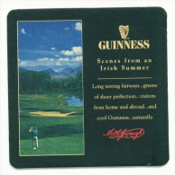 UNITED KINGDOM  -  Guinness  Beermat As Scans - Beer Mats