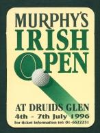 UNITED KINGDOM  -  Murphy's Irish Open  Beermat As Scan - Beer Mats