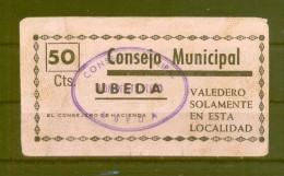 ÚBEDA (JAÉN).   CONSEJO MUNICIPAL - [ 3] 1936-1975 : Régence De Franco