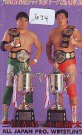 Télécarte  Japon * SUMO (624)  LUTTE  LUTTEURS WORSTELEN * JUDO * Kampf Wrestling *  LUCHA * PHONECARD JAPAN * - Japan