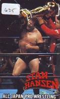 Télécarte  Japon * SUMO (625)  LUTTE  LUTTEURS WORSTELEN * JUDO * Kampf Wrestling *  LUCHA * PHONECARD JAPAN * - Japan