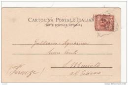 SIENA 1904 CATTEDRALE - PILA PER L�ACQUA SANTA DI ANTONIO FEDERIGHI - VIAGGIATA
