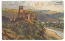 CPA Burg Lahneck U.Niederlahnstein - Lahnstein