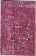 """Paris  Parc Des Princes """"Grand Prix Du Tour De France 25 Juillet 1948  (programme) - Programs"""