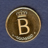 Gouden Herdenkingsmunt Boudewijn 1976 (6,5 Gr): Baldvinus Belgarum Rex MCMLI - XVII Iulii MCMLXXVI (1951 - 17 Juli 1976) - 1951-1993: Baudouin I