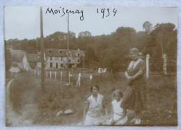 Photographie Ancienne - Femmes MOISENAY 1934   Photo - Places