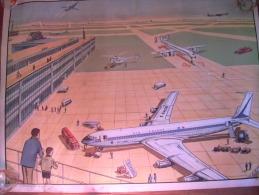 COLLECTION ROSSIGNOL AEROPORT AERODROME AVIONS   CHANTIER TRAVAUX PUBLICS
