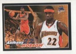 FIGURINA STICKER BASKETBALL STARS NBA 2009-2010 - PANINI -ANTHONY MORROW - WARRIORS - N.267 - Panini