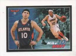 FIGURINA STICKER BASKETBALL STARS NBA 2009-2010 - PANINI - MIKE BIBBY - ATLANTA - N.114 - Panini
