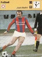 FUSSBALL-FOOTBALL-SOCCER- CALCIO, Trading Card / Sammelkarte, 1977-78, Ca. 16x12 Cm, Ed. Rencontre S.A., Lausanne - Fútbol