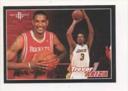 FIGURINA STICKER BASKETBALL STARS NBA 2009-2010 - PANINI - TREVOR ARIZA - ROCKETS - N.335 - Panini