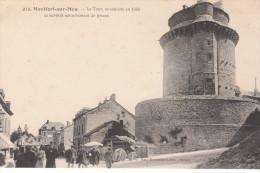 CPA MONTFORT-SUR -MEU  LA TOUR CONSTRUITE EN 1389 ET SERVANT ACTUELLEMENT DE PRISON - Autres Communes