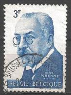 1963 3fr Pirenne, Used - Used Stamps