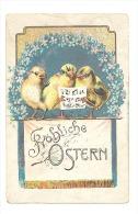 Joyeuses Pâques - Fröhliche Ostern - Coeur De Poussins - Chansons (Y322)b130 - Pasen