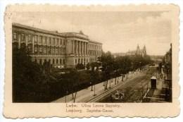Lemberg, Lwow, Ulica Leona Sapiehy, Sapieha - Gasse, K.u.k. Zensur, 20.1.1917, WW1, WK1 - Ukraine