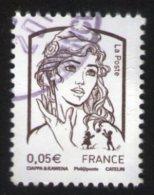 France 2013 Oblitéré Rond Used Stamp Marianne Ciappa Et Kawena 0,05 Euro Y&T 4764 - France