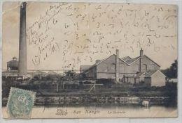 """Nangis - La Sucrerie  """" Carte écrite En Sténo"""" Année 1908 -  Défauts  Voyagée - Petit Prix - Nangis"""