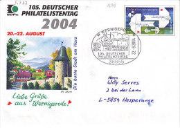 D-Wernigerode 2004. 105. Deutscher Philatelistentag (5.767)