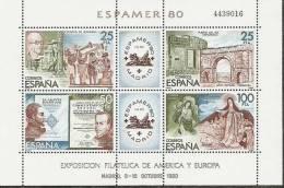 1980-ED.2583 H.B.-ESPAMER80- NUEVO- - 1971-80 Unused Stamps