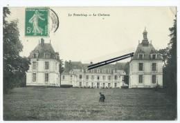 CPA - Le Tremblay- Le Château - France