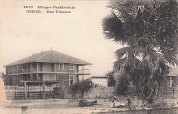 DAKAR (Senegal) - Rue Vincens, 1910? - Senegal