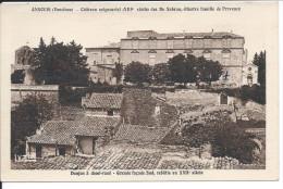 ANSOUIS (Vaucluse) - Chateau Seigneurial (XIIIe Siècle) Des De Sabran, Illustre Famille De Provence - Ansouis