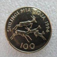 Tanzania 100 Schillings 1994  UNC - Tanzanie
