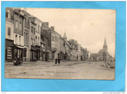 ROUTOT-La Grande Rue -animée Commerces  -années 1900-10  édition Gérard - Routot