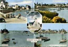N°40009 -cpsm Loguivy De La Mer -multivues- - Francia
