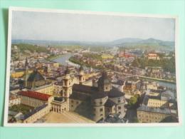 SALZBURG Von Der Festung Aus - Salzburg Stadt