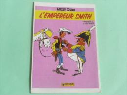 LUCKY LUKE - L'EMPEREUR SMITH - Stripverhalen