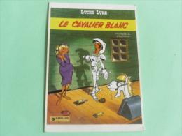 LUCKY LUKE - LE CAVALIER BLANC - Stripverhalen