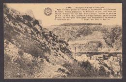 40248/ DINANT, Bouvignes Et Ruines De Crève-Coeur, Carte Didactique Desaix, 2 Scans - Dinant