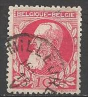 1905 10c Leopold, Used - 1905 Thick Beard