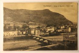 VENTIMIGLIA - BORGO S. AGOSTINO E FIUME ROIA - F/P - V: 1911 - Imperia