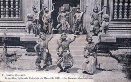 Kambodscha Tänzerinnen - Exposition Nationale Coloniale De Marselle 1922 - Kambodscha