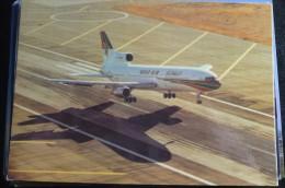 AIRLINES ISSUE / CARTE COMPAGNIE     TRISTARD   GULF AIR - 1946-....: Modern Era