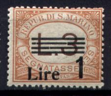 San Marino 1936 Segnatasse Sass.51 **/MNH VF/F - Portomarken