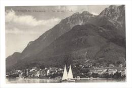10340 - Saint Gingolph Lac Léman Voilier - Autres Communes