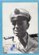MARCOPHILIE Carte Postale -Amiral Max DOUGUET-cad Dumont D'urviller-1991  Timbre Concordant - Lettres & Documents