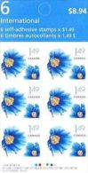 CANADA 2005, # 320,   Pane  2134a,  HIMALAYAN BLUE POPPY. FULL PANE MNH - Pages De Carnets