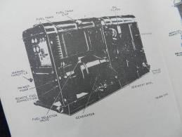 RARE MANUEL GROUPES  ELECTROGENES  PR-95 ... Daté 1953 - Radios